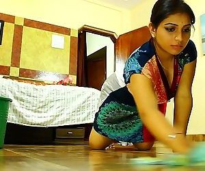 Indian Maid Seduced Softcore..